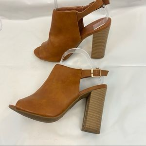 Glaze Open Toe Shoes